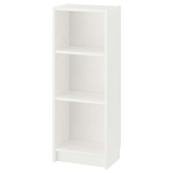 BILLY Libreria, bianco, 40x28x106 cm