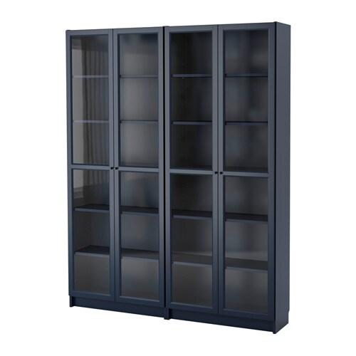 Billy libreria blu scuro 160x202x30 cm ikea - Ikea libreria billy ...