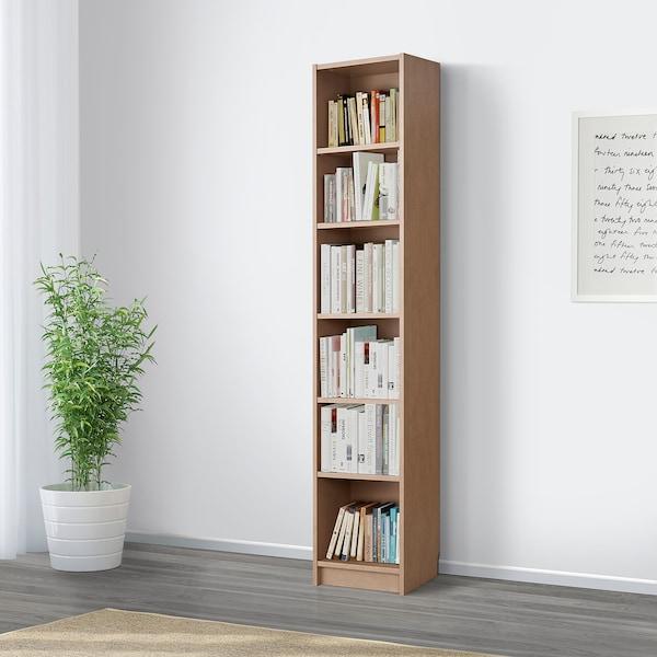BILLY Libreria, marrone chiaro, 40x28x202 cm