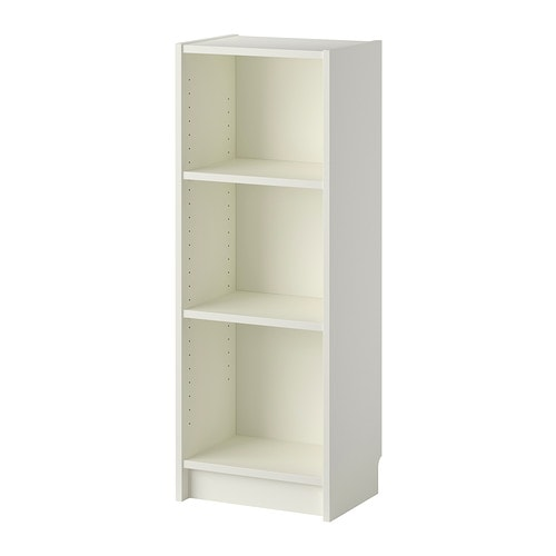 Billy libreria bianco ikea for Libreria stretta
