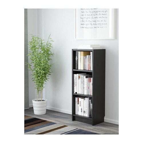Billy libreria marrone nero ikea for Progettare con ikea