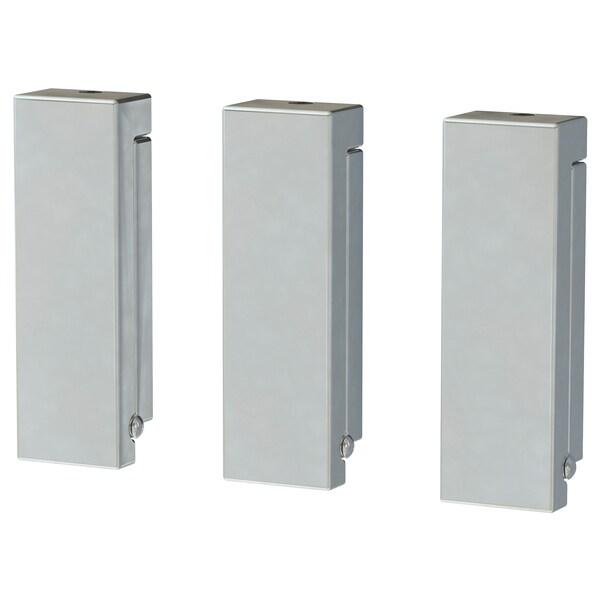 BJÄRNUM Gancio pieghevole, alluminio, 8 cm