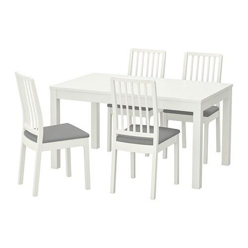 Ikea Tavoli E Sedie.Bjursta Ekedalen Tavolo E 4 Sedie Ikea