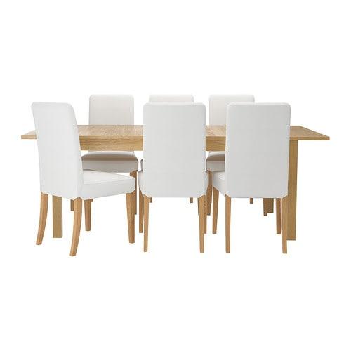 Bjursta henriksdal tavolo e 6 sedie ikea - Tavolo bjursta ikea ...