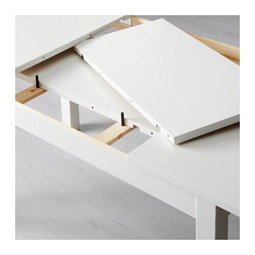 Bjursta Tavolo Allungabile Bianco.Bjursta Tavolo Allungabile Bianco Ikea