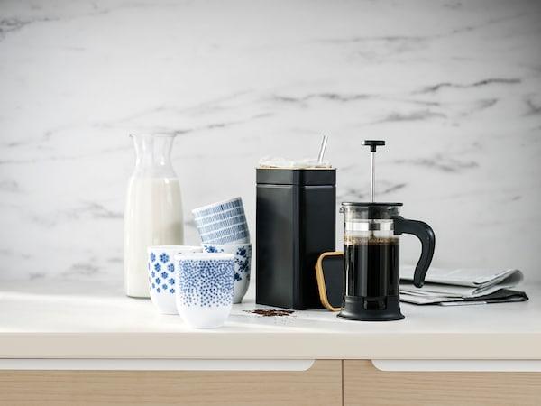 BLOMNING Barattolo caffè/tè, 11x7x20 cm