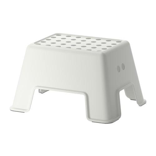 Bolmen scaletta sgabello bianco ikea for Ikea scaletta bagno