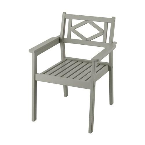 IKEA BONDHOLMEN Sedia con braccioli da giardino