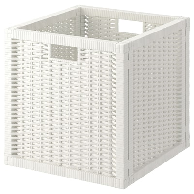 BRANÄS Cestino, bianco, 32x34x32 cm