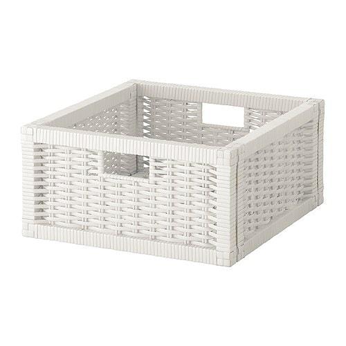 Bran s cestino bianco 32x35x16 cm ikea for Cestino bagno ikea