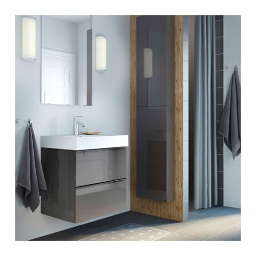 BrÅviken lavabo a 1 vasca   100x49x10 cm   ikea