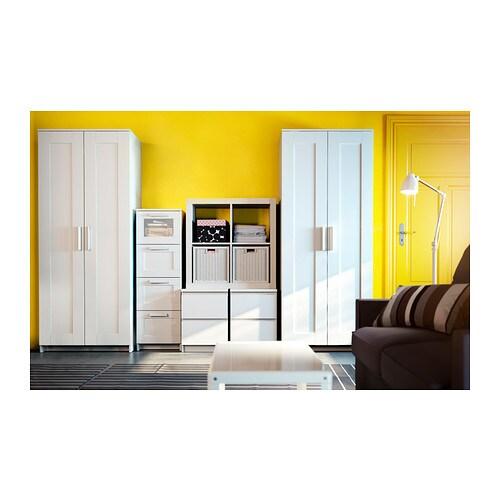 Brimnes Guardaroba A 2 Ante Bianco Ikea
