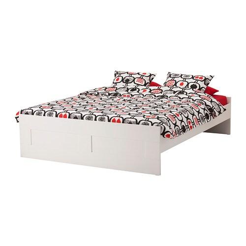 brimnes struttura letto - 160x200 cm, luröy - ikea