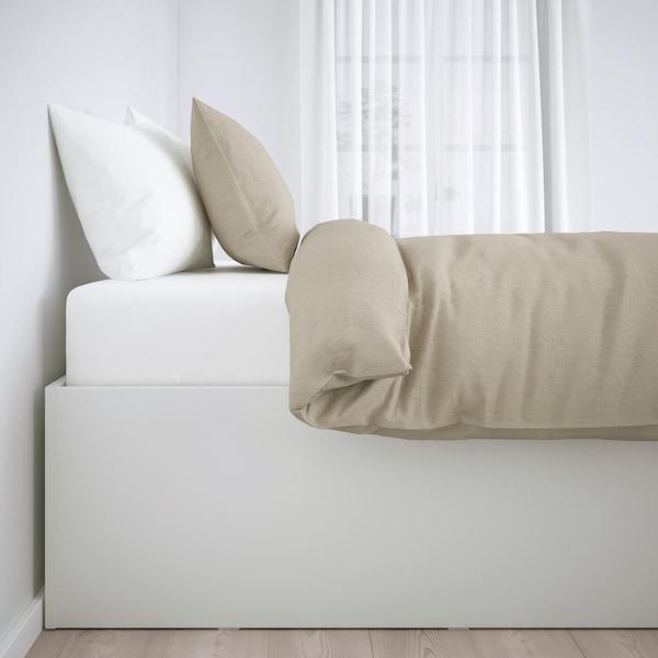 BRIMNES Struttura letto con contenitore, bianco, 160x200 cm