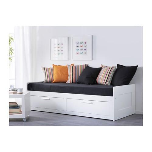 BRIMNES Struttura letto divano/2 cassetti - IKEA