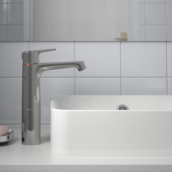 BROGRUND Miscelatore per lavabo, alto, cromato