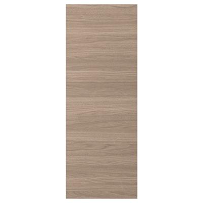 BROKHULT Rivestimento laterale, effetto noce grigio chiaro, 39x106 cm