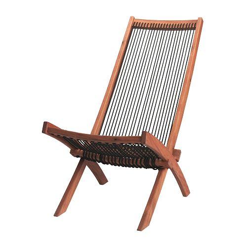 Sedie In Legno Da Giardino Ikea.Brommo Sedia Relax Da Giardino Ikea