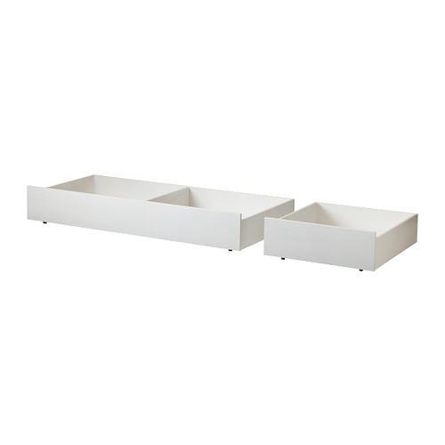 Brusali set di 2 contenitori per letto ikea for Contenitori per giocattoli ikea