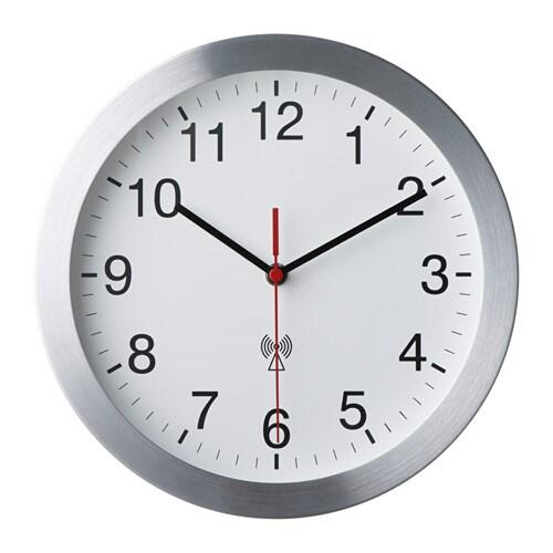 Burrig orologio da parete radiocomandato ikea for Ikea plafoniere da parete