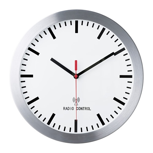 burrig orologio da parete radiocomandato ikea