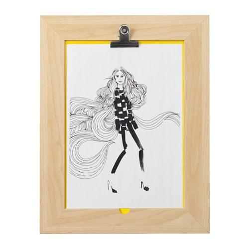 byarum poster con cornice ikea. Black Bedroom Furniture Sets. Home Design Ideas