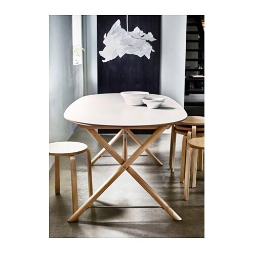 DALSHULT / SLÄHULT Tavolo IKEA Il piano tavolo in melammina resiste all'umidità e alle macchie ed è facile da pulire.