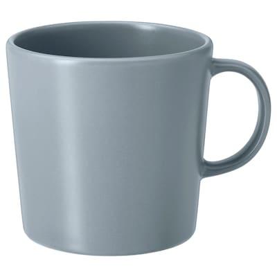 DINERA tazza grigio-blu 9 cm 30 cl