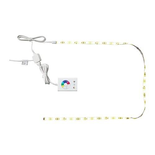 Dioder illuminazione flessibile a led ikea for Illuminazione a led ikea