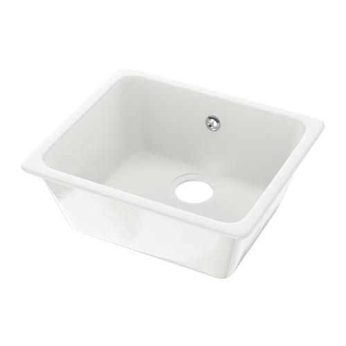DOMSJÖ Lavello da incasso a 1 vasca - IKEA