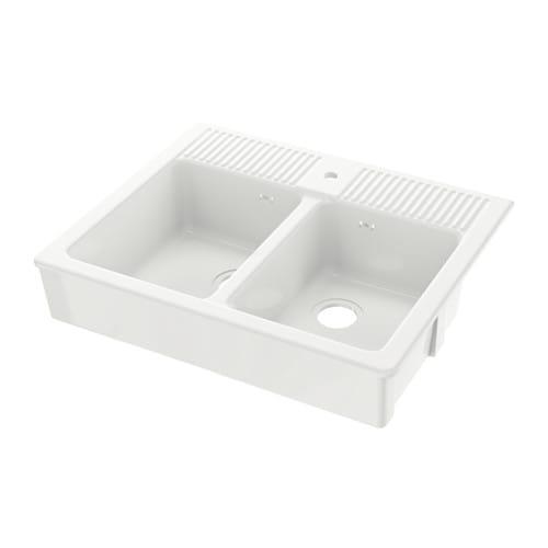 Domsj lavello doppio ikea for Ikea lavello