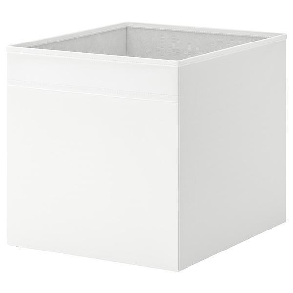 DRÖNA Contenitore, bianco, 33x38x33 cm