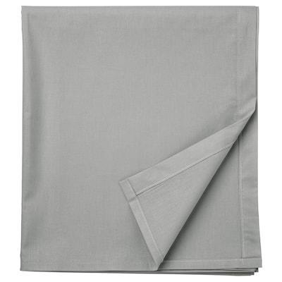 DVALA Lenzuolo, grigio chiaro, 240x260 cm