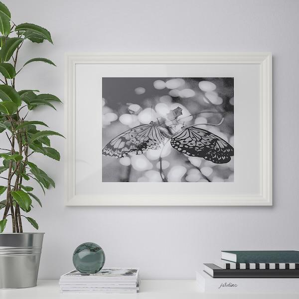 EDSBRUK Cornice, bianco, 50x70 cm