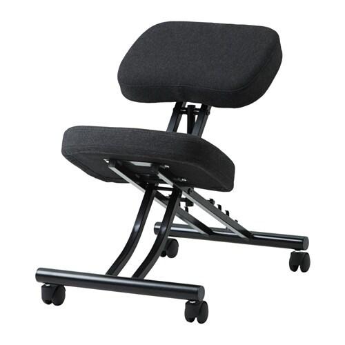 Eifred sedia con appoggio per ginocchia ikea for Sedia ergonomica