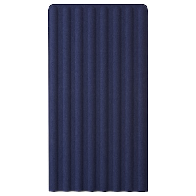 EILIF Paravento freestanding, blu, 80x150 cm