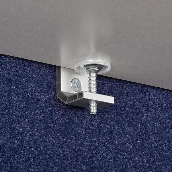 EILIF Schermo divisorio per scrivania, blu, 160x48 cm