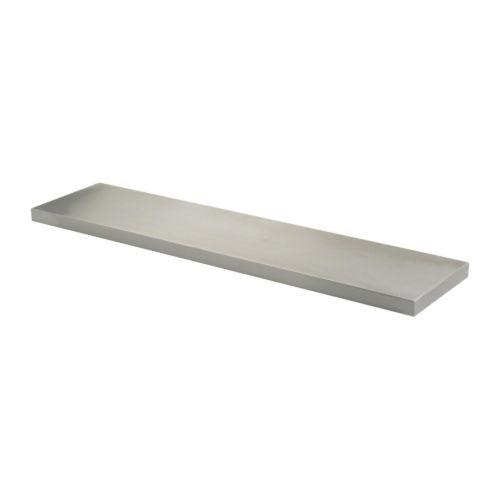 Ekby mossby mensola 119x28 cm ikea for Ikea mensole acciaio