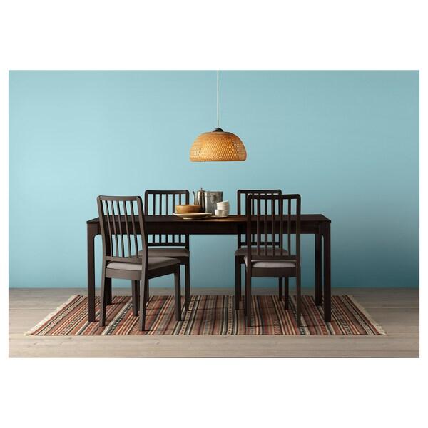 ekedalen tavolo allungabile marrone scuro ikea On tavolo marrone scuro
