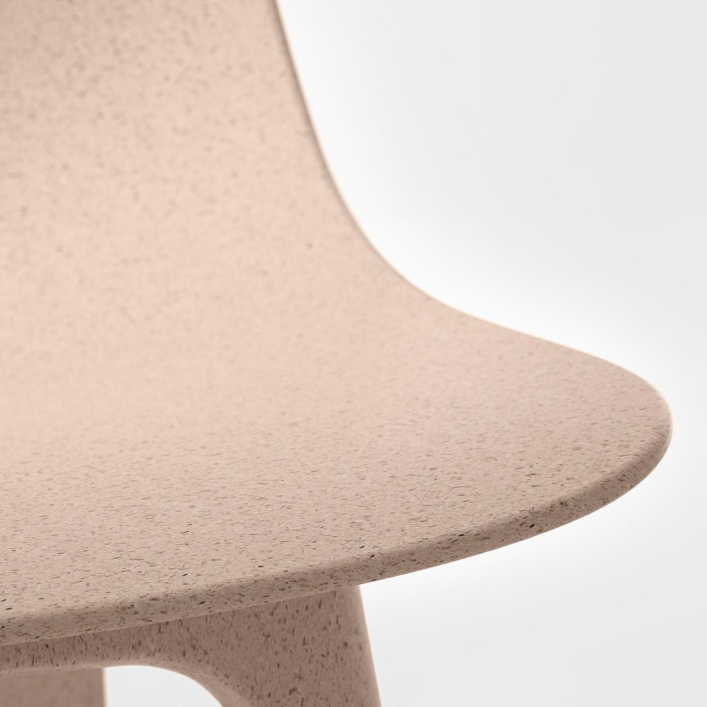 EKEDALEN ODGER Tavolo e 4 sedie marrone, bianco beige 120180 cm