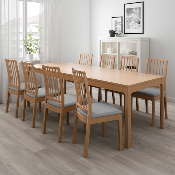 Ekedalen Tavolo Allungabile Rovere Ottieni Tutti I Dettagli Del Prodotto Ikea It