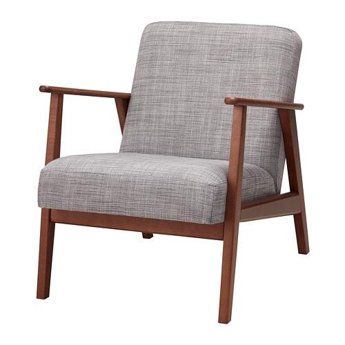 EKENÄSET Poltrona - Isunda grigio - IKEA