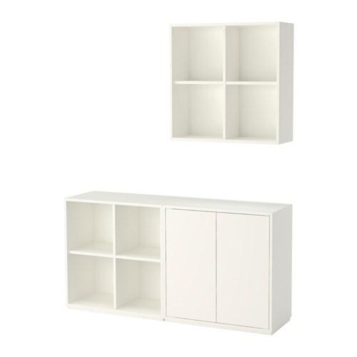 EKET Combinazione di mobili con zoccolo - bianco - IKEA
