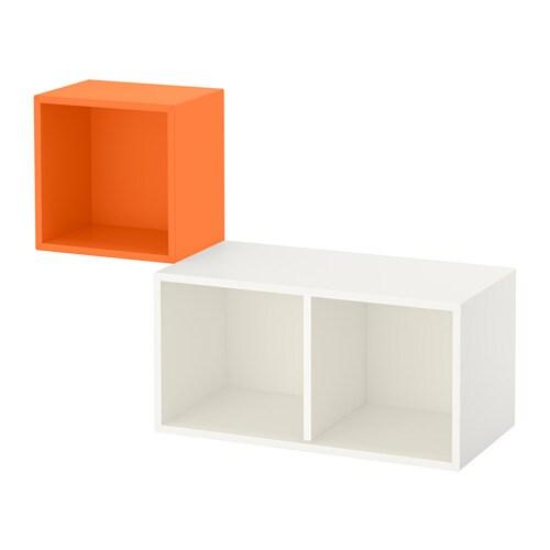 Eket combinazione di mobili da parete arancione bianco ikea - Personalizzare mobili ikea ...
