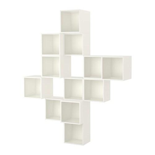 EKET Combinazione di mobili da parete IKEA Una soluzione asimmetrica ...