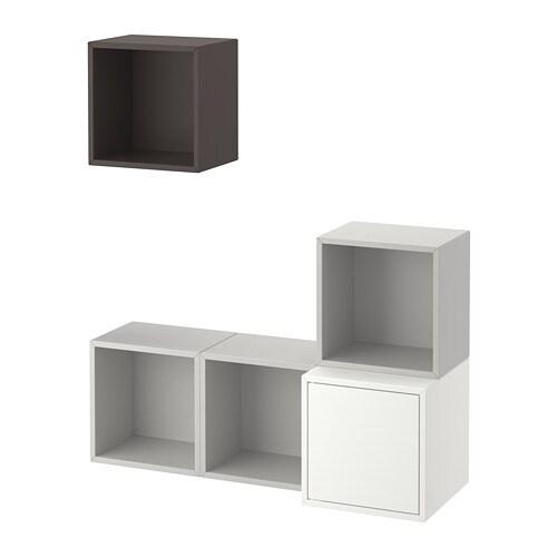 Eket combinazione di mobili da parete ikea for Mobili da parete