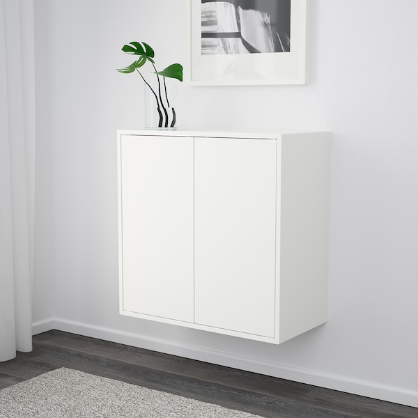 EKET Scaffale da parete, bianco, 70x35x70 cm