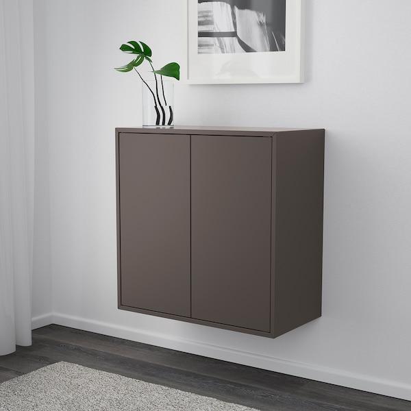 EKET Scaffale da parete, grigio scuro, 70x35x70 cm