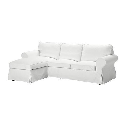 Ektorp divano a 2 posti e chaise longue blekinge bianco ikea - Divano ektorp 2 posti ...
