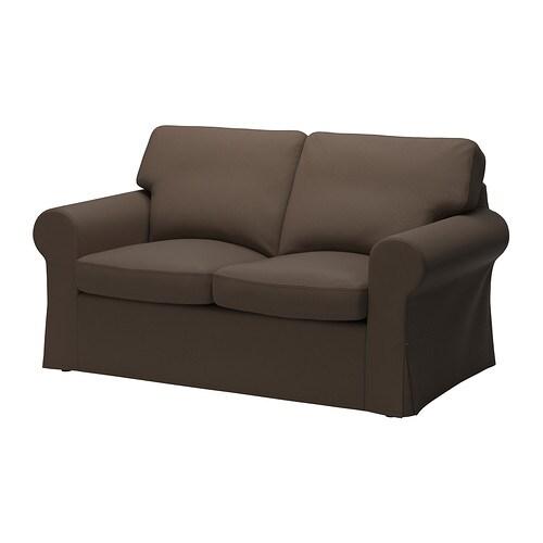 Ektorp divano a 2 posti jonsboda marrone ikea for Fodere divano ektorp ikea